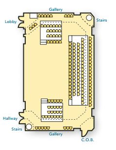 bevard studio seating chart